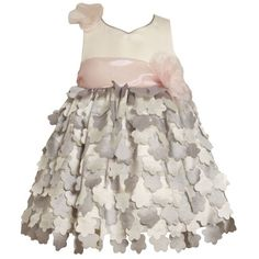 Size-4T BNJ-5328-B SILVER IVORY PINK DIE CUT FLOWER OVERLAY Special Occasion Flower Girl Party Dress B25328 Bonnie Jean TODDLERSFrom #Bonnie Jean List Price: $63.00Price: $44.10 Availability: Usually ships in 1-2 business daysShips From #and sold by iPovePou Boutique