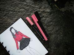 #sketch #pink