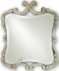 Sasafras Mirror, 28w x 33h x 1d