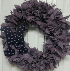 Purple Burlap w Monogram. This color is incredible yet strangely indescribable.