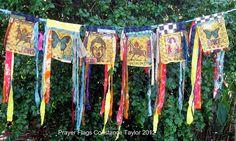 Prayer Flags by constancetaylor, via Flickr