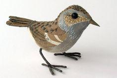 SONGBIRD SCULPTURES BY EMILY SUTTON