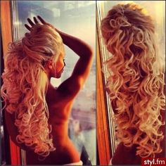 Absolutely beautiful .... I want this hair!