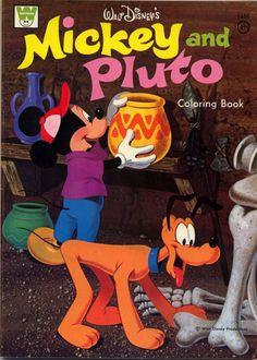 Mickey Mouse Coloring Book RARE Unused