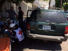 El conductor del vehículo aseguró que la unidad motriz presentó una falla mecánica y no pudo parar su marcha