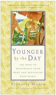 This is an inspirational book that will change the way you look at your own aging process. It's a daily read, which makes it really easy to use. Younger by the Day by Victoria Moran.