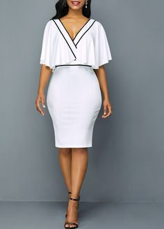 Shop white Dresses online,Dresses with cheap wholesale price,shipping to worldwide Women's Fashion Dresses, Sexy Dresses, Dresses For Work, Summer Dresses, Sheath Dresses, Dresses Dresses, Casual Dresses, Party Dress Sale, Club Party Dresses