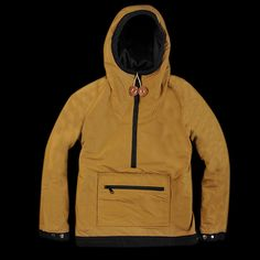 UNIONMADE - Mt. Rainier Design - Reversible Anorak in Navy  And the reverse