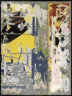 Raymond Hains ( 9 nov. 1926 - 28 oct. 2005) Panneau d'affichage 1960 (C) ADAGP Credit:  Photo (C) Centre Pompidou, MNAM-CCI, Dist. RMN-Grand Palais / Philippe Migeat