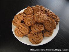 La vetrina del Nanni: Biscotti Friabili Cioccolato e Pinoli