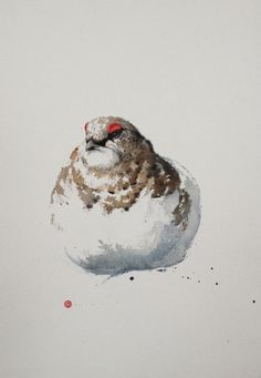 Karl Martens, Ptarmigan (Framed) | Cricket Fine Art
