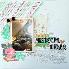 My best medecine 12x12 scrapbook - Julia K