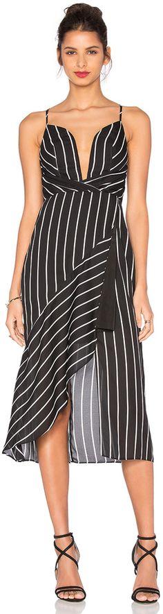 cc6e0be34b0 Chocker Neck Stripe Print Asymmetric Hem Blouse