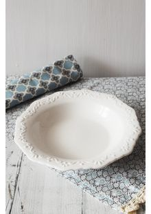 Porcelánový talíř hluboký