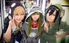 Kano, Kido, Seto Cosplay / Kagerou project