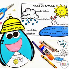 Water Cycle Cloud and Weather Activities for Kindergarten First Grade Second Grade