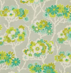 1 Yard Gorgeous HEATHER BAILEY Fabric Lottie by BellatiqueFabrics, $9.00