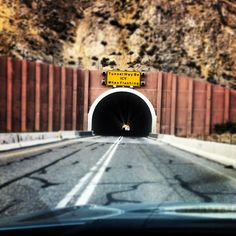 The Carlin Tunnels.. Near Elko Nevada.. yup, we use to drive through these tunnels everyday until we moved to Elko.