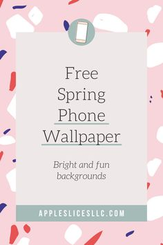 These Spring themed wallpapers for your phone are bright, fun, and colorful. These phone backgrounds are ideal for adding some color and sass to your cell phone. Enjoy these backgrounds this Spring and enjoy your lock screen! Phone Backgrounds, Phone Wallpapers, Wallpaper Backgrounds, Free Phones, Wallpaper For Your Phone, Apple Slices, Fun Prints, Some Fun, Quotes To Live By