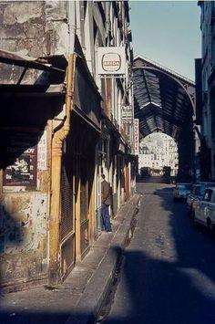 Les Halles. Paris.(dans les années 60)