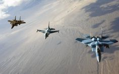 WALLPAPERS HD: F 15 Eagles and F 16 Fighting Falcon