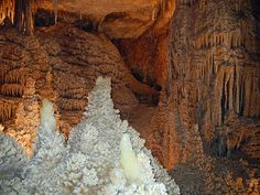 Ten Best Caves to Explore on a Road Trip or in your RV... Caverns of Sonora, Texas