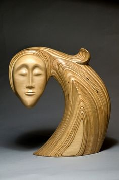 Wood sculpture by Robert Hargrave