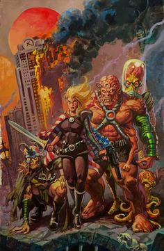 FOR SALE Topps Mars Attacks: Occupation - Card Cover Art - Dan Brereton Comic Art