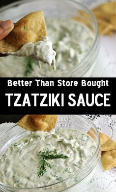 Tzatziki Sauce / Dip TZATZIKI SAUCE…… better thn store bought Tzatziki Sauce is the white Greek yogurt and cucumber sauce. Serve it with Pita bread, in gyro, in Falafel sandwiches or with vegetables as a dipping sauce. Tzatziki sauce is grt dipping sauce. Greek Recipes, Indian Food Recipes, Vegetarian Recipes, Cooking Recipes, Cooking Tips, Falafels, Biryani, Naan, Greek Yogurt Dips