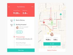 Another shot of delivery app. Actually it's just a concept. But, currently I am working on fast-growing startup which is developing delivery/logistic app in Jakarta, kinda like UBER for delivery. S...