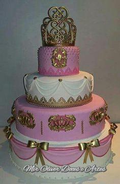Princesa bolo biscuit