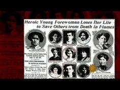 ▶ Remembering the Triangle Shirtwaist fire - YouTube