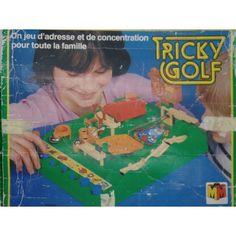 Jeu de société : Tricky Golf