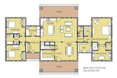 Unique Home Plan wit