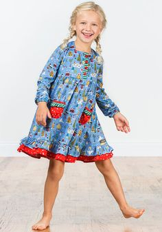 Matilda Jane - Winter Solstice Nightie (2Y-14Y)