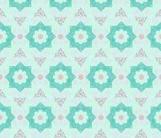 Arabesque  fabric by leahvanlutz on Spoonflower - custom fabric