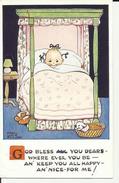 Lucie Attwell postcard | eBay