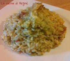 risotto carciofi  pancetta e scamorza gustosissimo la #ricetta# sul blog La cucina di Reginé Risotto Recipes, Rice Recipes, Cooking Recipes, Polenta, Tomato Gravy, Italy Food, Happy Kitchen, Rice Dishes, Gnocchi