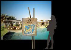 Señalización del hotel Baobab, temático africano, Canarias, Planos de zonas. Diseño Arcadi Moradell / SignalDesign.