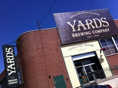 Yards Brewing Company in Philadelphia, PA