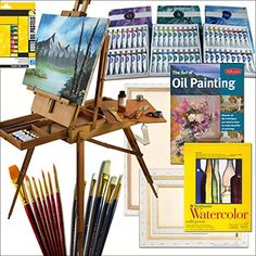 Hardwood French Art Easel with Comprehensive Artist Quality Painting Supplies Set All Medium Online Art Supplies http://www.amazon.com/dp/B00PDI2RN2/ref=cm_sw_r_pi_dp_Phmgvb0Z6583T