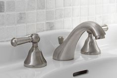 Mico Allure 2900-CP Lavatory Faucet Polished Chrome. Home Decor Bathroom Product #MicoDesignsLTD