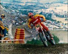 GP motocross Motocross Quotes, Motocross Riders, Vintage Motocross, Bmw, Dirtbikes, Mini Bike, Old Skool, Sport Bikes, Grand Prix