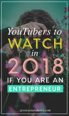 Y'all know that it's no secret that I love YouTube but I'm here to tell you that YOU should love YouTube too! There is a literal WEALTH of information sitting at YouTube.com that's just waiting for you to find it, so today, I'm introducing you to 7 YouTubers you should be watching in 2018 if you want to grow your business.    https://youtu.be/1tYEduE-pik