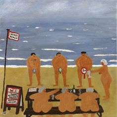Hunks Without Trunks by Gary Bunt