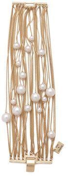 Juliet & company Runway Multi Strand Pearl Bracelet on shopstyle.com