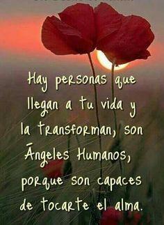 Hay personas que llegan a tu vida y la transforman.