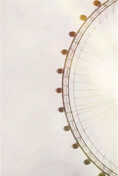 The London Eye. A Stroll Through London: Top Ten South Bank Destinations