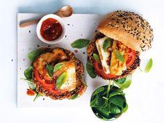 The green ananas / 7 avril 2016Veggie burger !