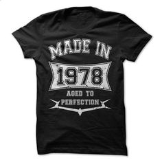 Made in 1978 - #diy tee #black sweater. GET YOURS => https://www.sunfrog.com/Birth-Years/Made-in-1978-17884019-Guys.html?68278